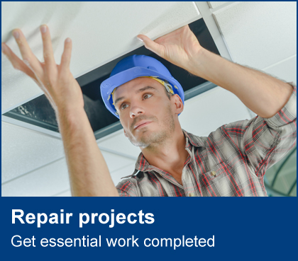 Repair projects